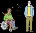 Gleichberechtigung Illustration