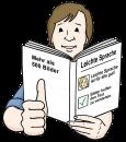 Leichte Sprache Illustration